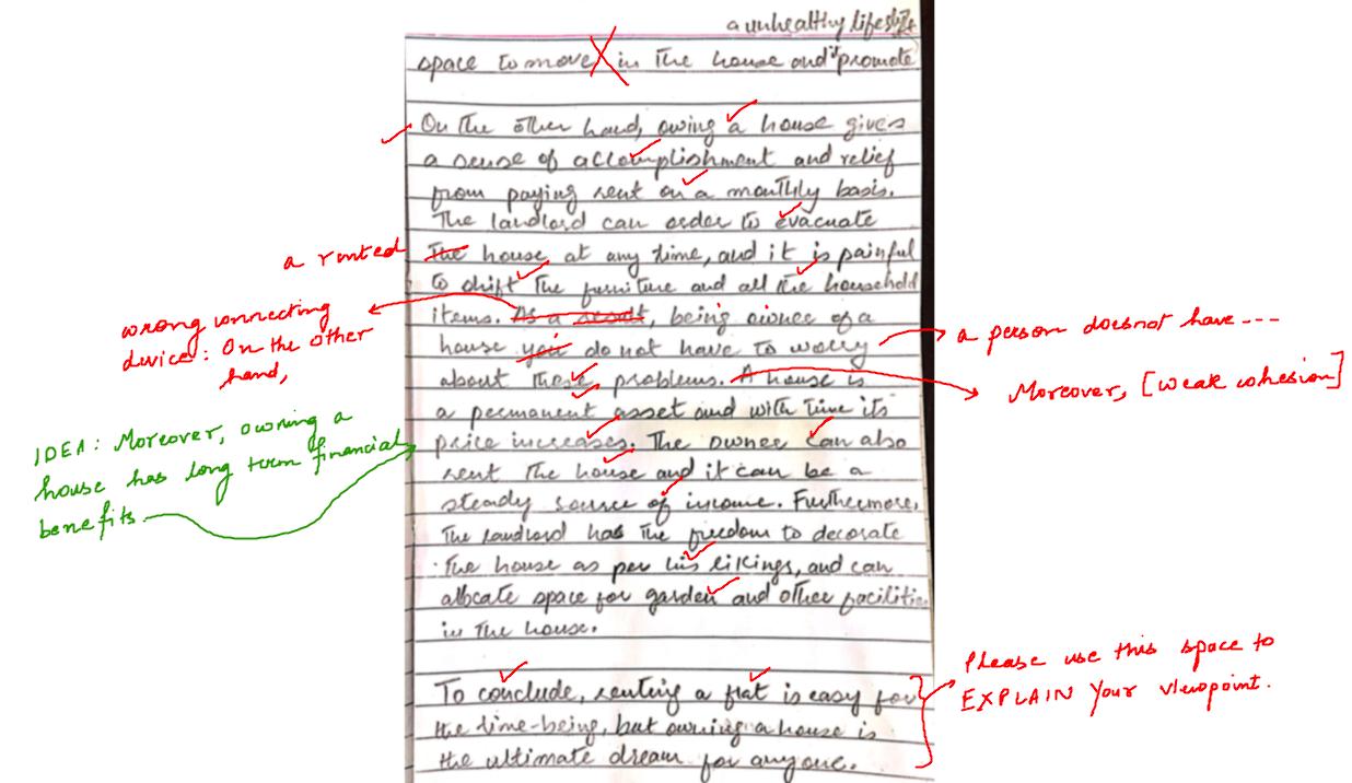 Correct my essay